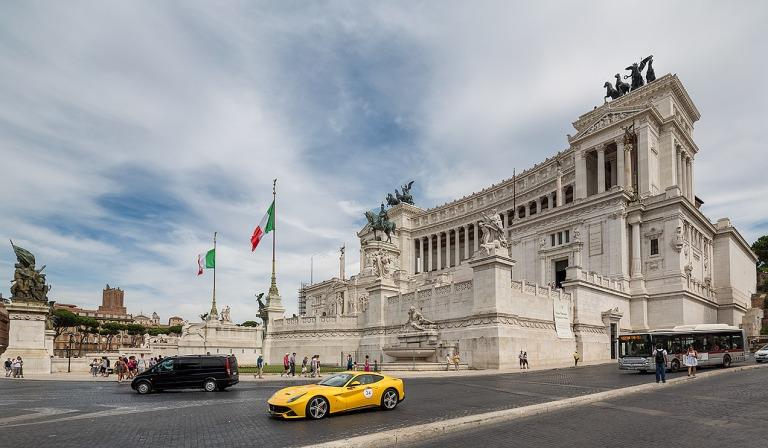 Vittorio Emanuele II Monument © Michael Evans Photographer 2016