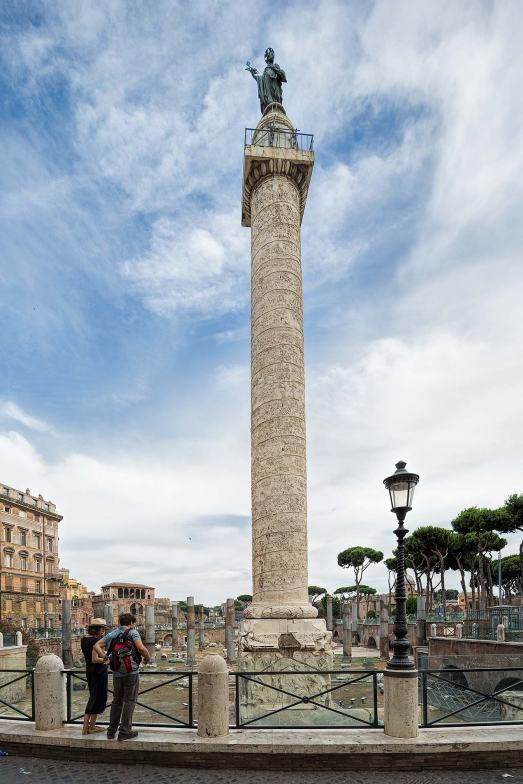 Trajan's Column, Rome © Michael Evans Photographer 2016