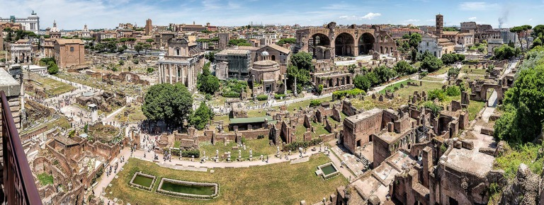 The Forum, Rome © Michael Evans Photographer 2016 - www.michaelevansphotographer.com