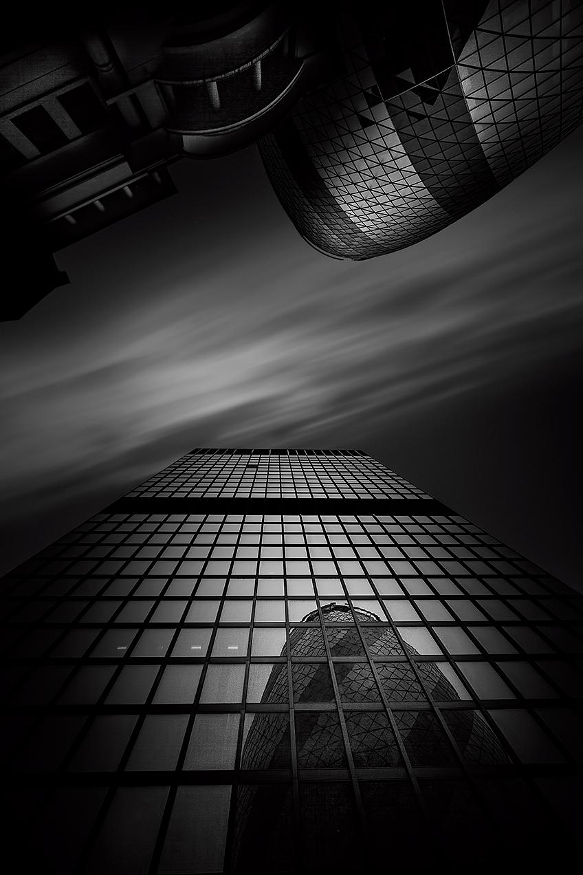 Fine art black and white image of London, UK© Michael Evans Photographer 2016