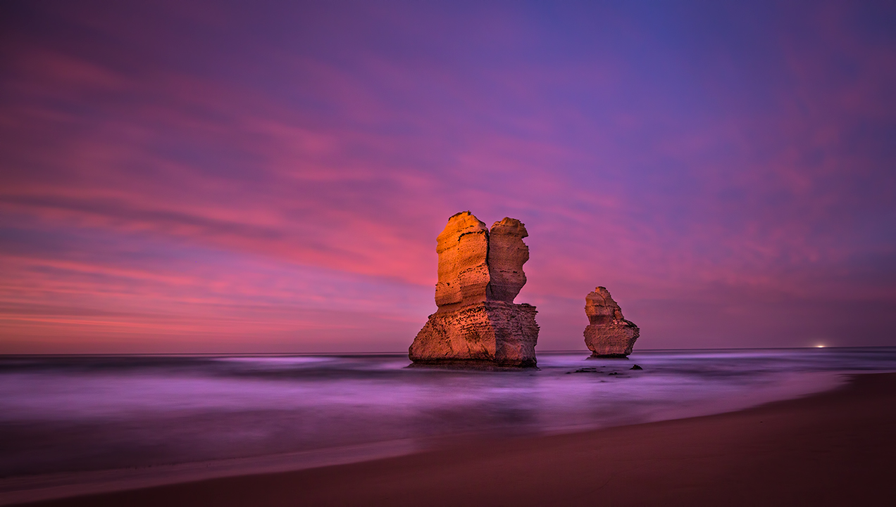 Gog and Magog, Gibsons Beach, Great Ocean Road, Victoria, Australia © Michael Evans Photographer 2016