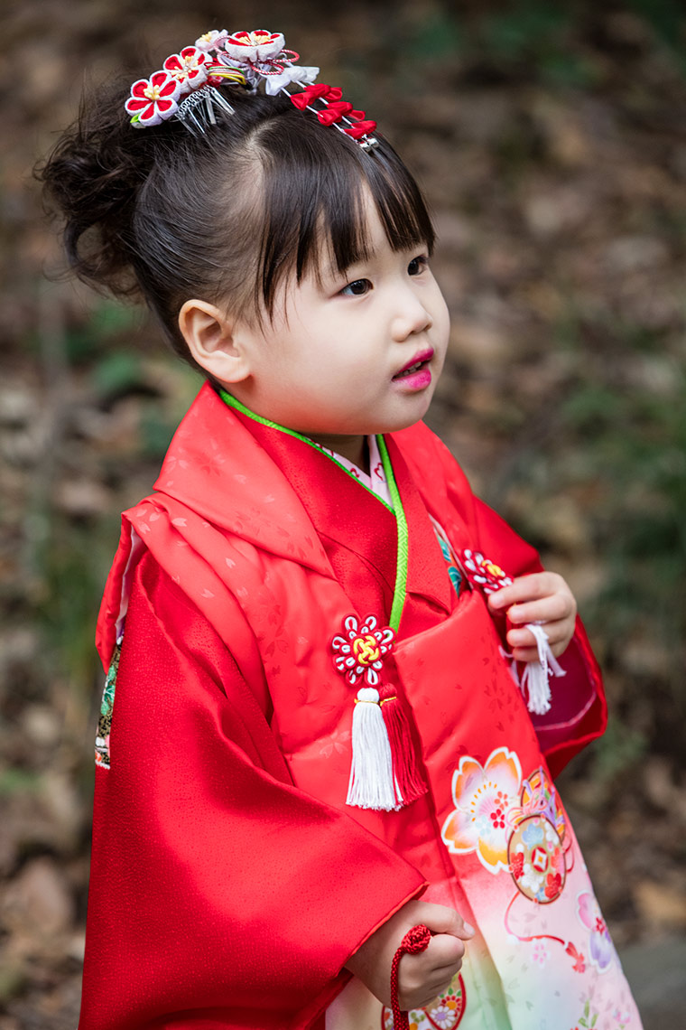 Child at the Meiji Shrine, Shinjuku, Tokyo © Michael Evans Photographer 2017