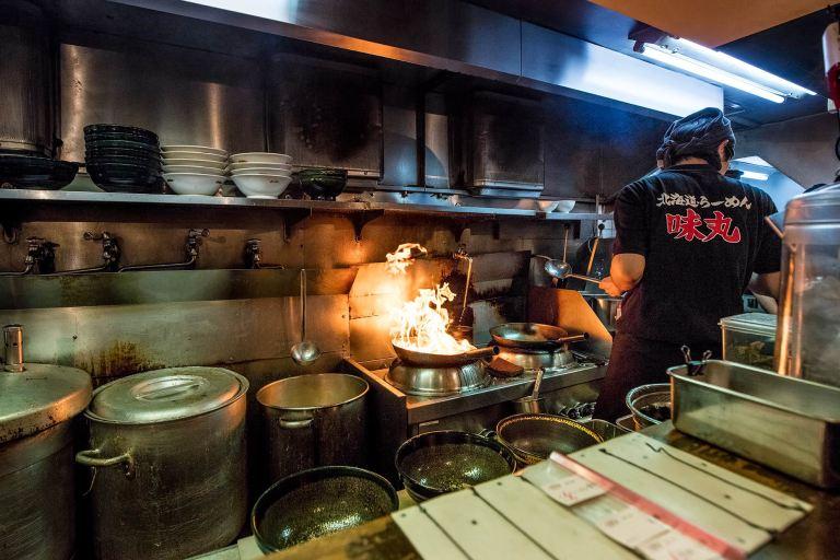 Ramen Restaurant in Tokyo  © Michael Evans Photographer 2017