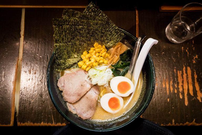 Ramen noodles in Tokyo © Michael Evans Photographer 2017