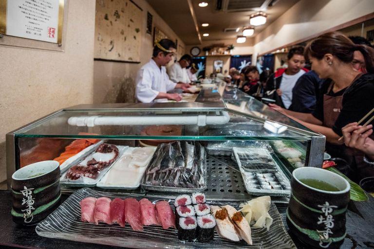 Tsukiji Fish market in Tokyo © Michael Evans Photographer 2017