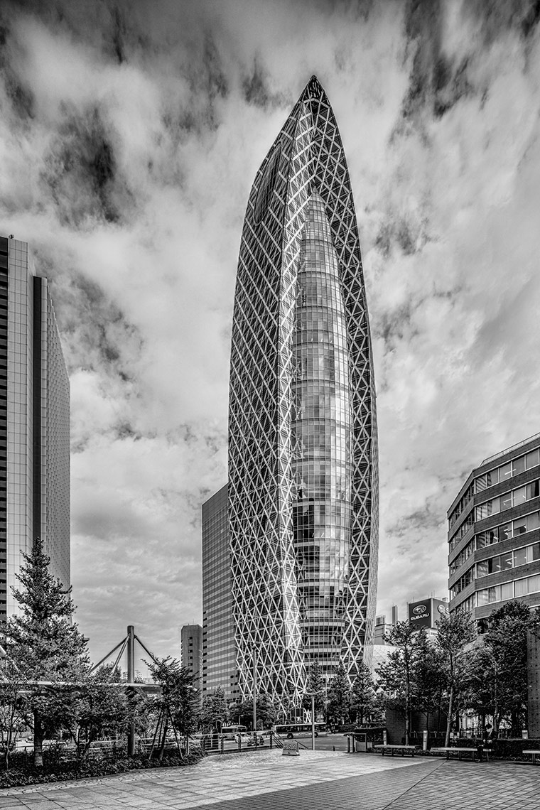 Cocoon Tower, Tokyo © Michael Evans Photographer 2017