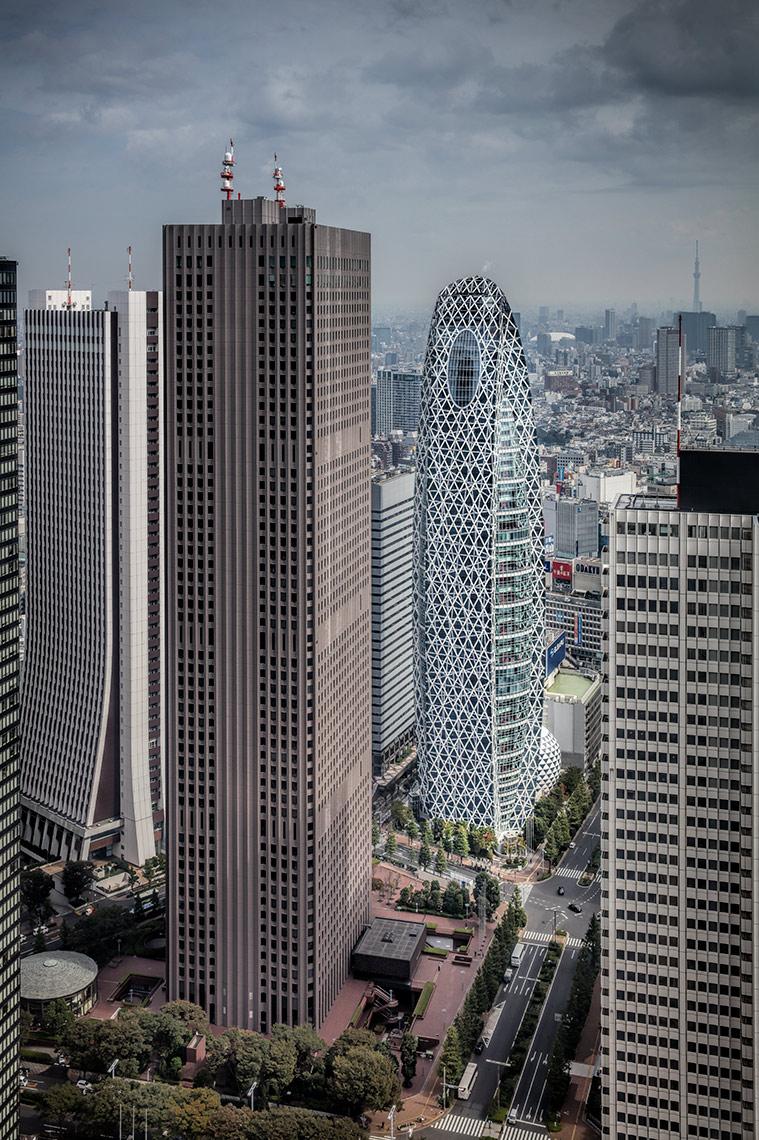 Cocoon Tower, Tokyo © Michael Evans Photographer 2017