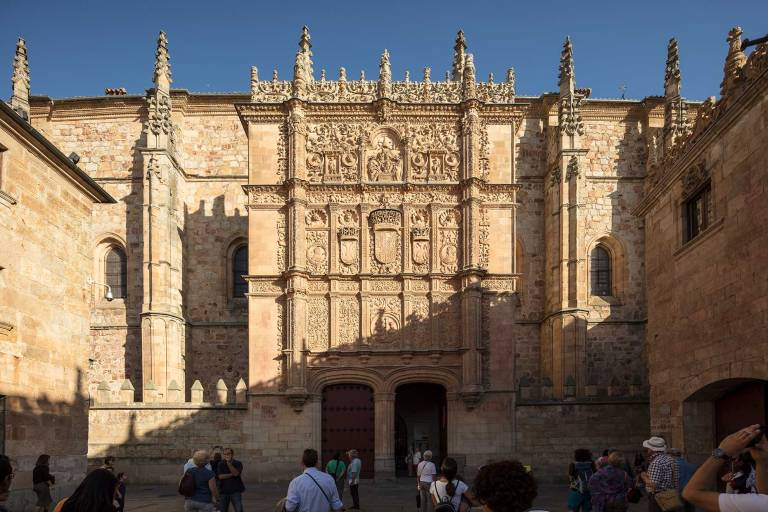 The old university in Salamanca © Michael Evans Photographer 2017