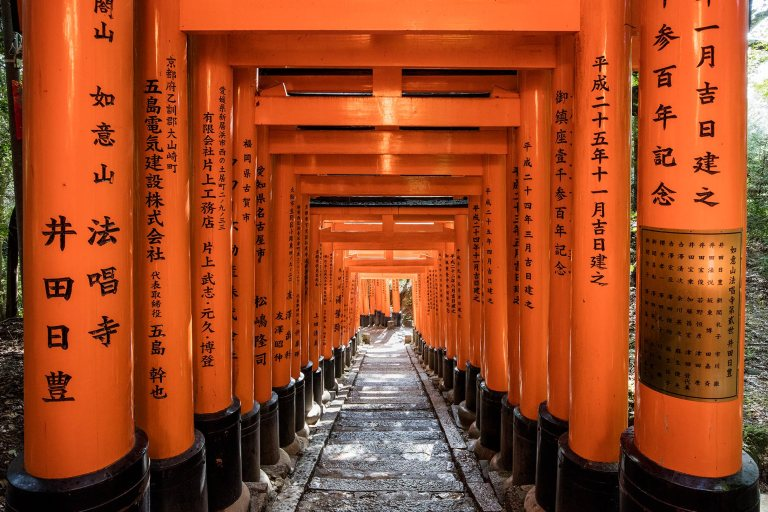 Fushimi Inari-taisha shrine, Kyoto, Japan © Michael Evans Photographer 2018
