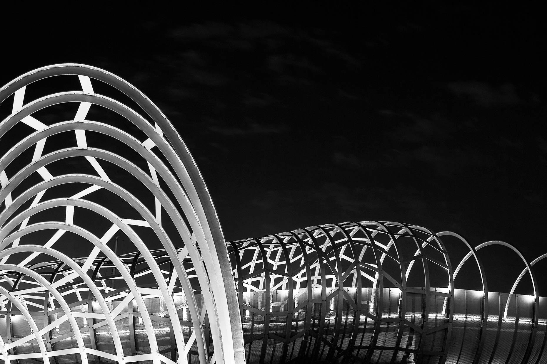 Melbourne Webb Bridge © Michael Evans Photographer 2019