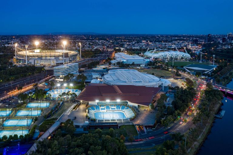 Melbourne Cricket ground aerial view © Michael Evans Photographer 2019